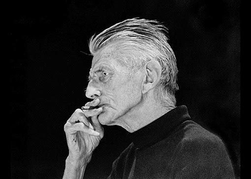 Samuel Beckett. Photograph: John Minihan