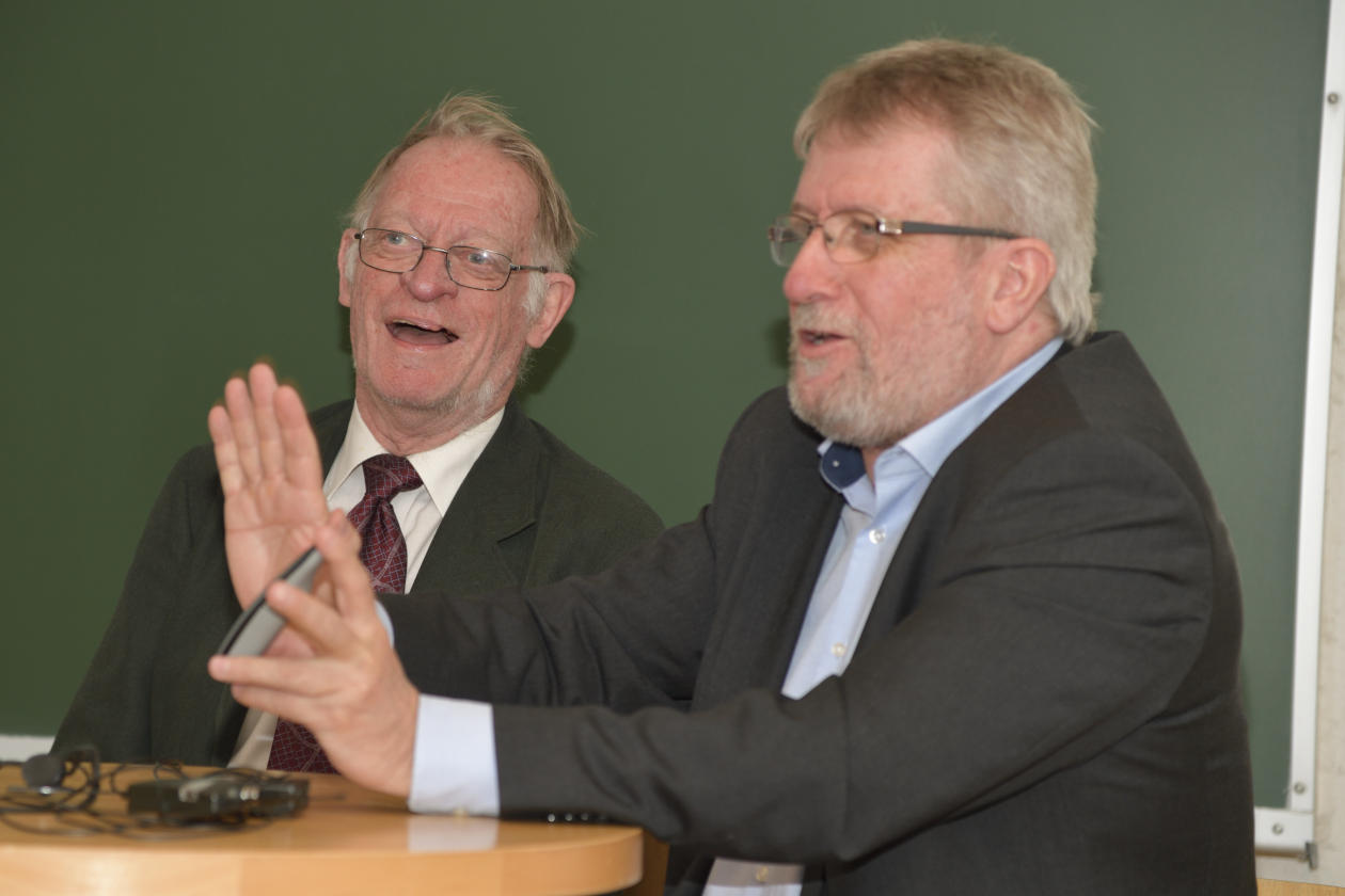 Arild Holt Jensen og Zoltan Kovaks.
