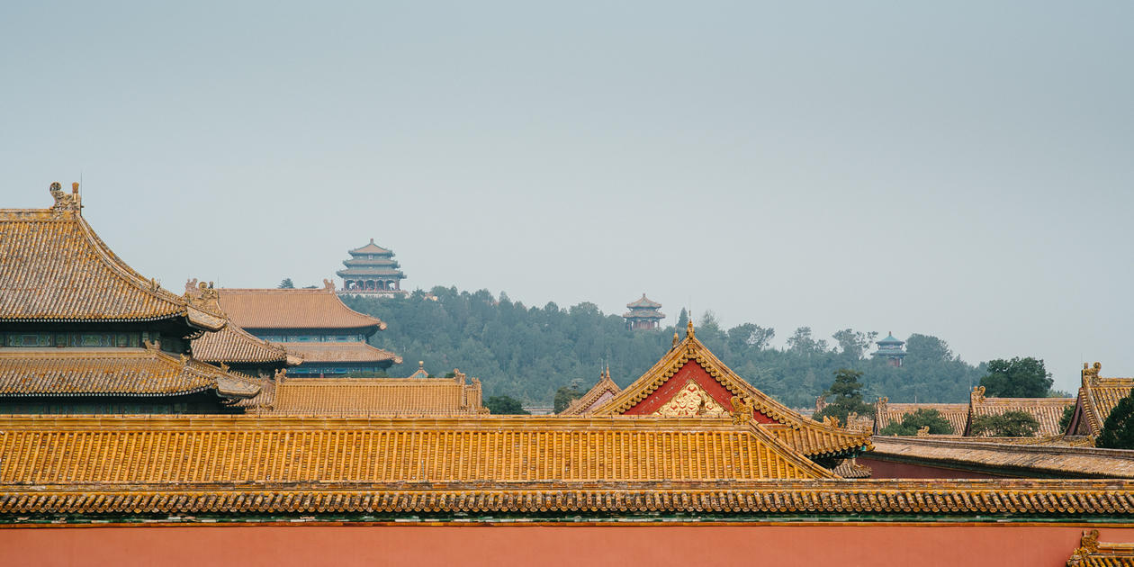 Rooftops in China