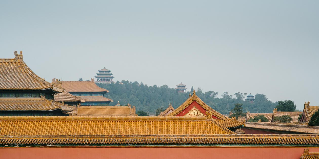 Roof in Beijing