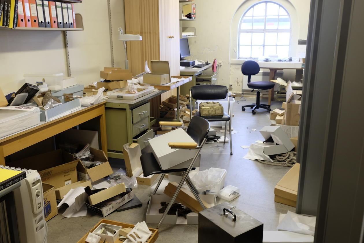 Raserte kontorer etter museumsinnbruddet