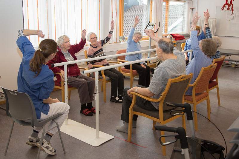 Elderly in activity