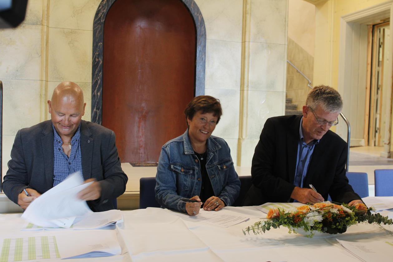 Signering Universitetsmuseet i Bergen