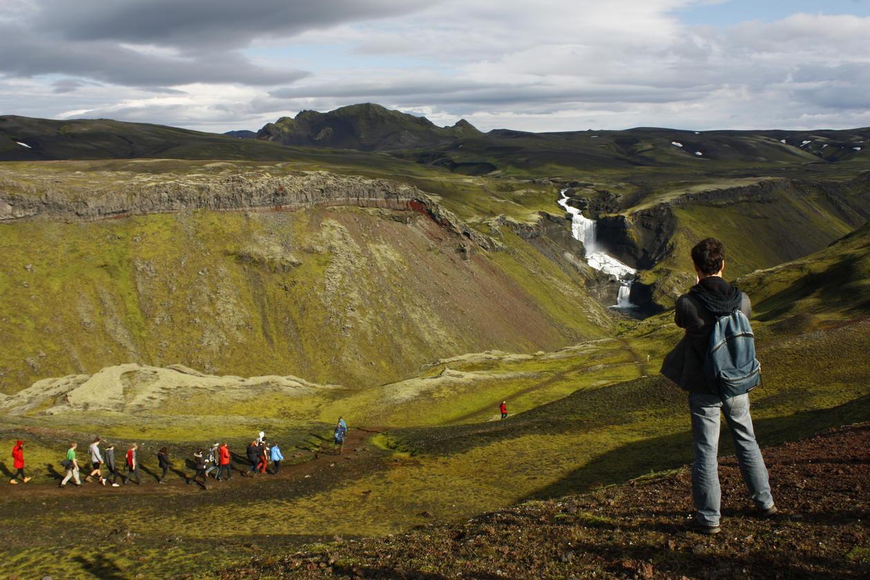 Islandsk landskap