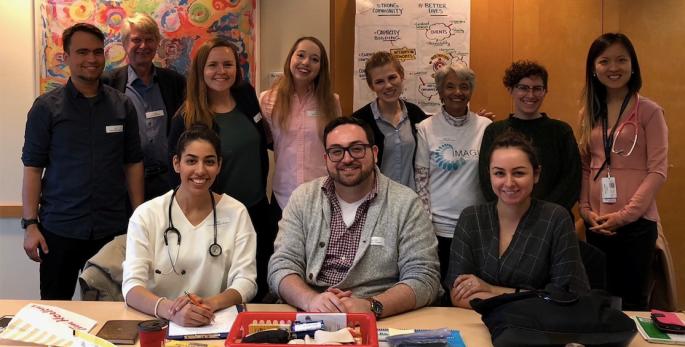 Studenter på besøk ved klinikk i Toronto