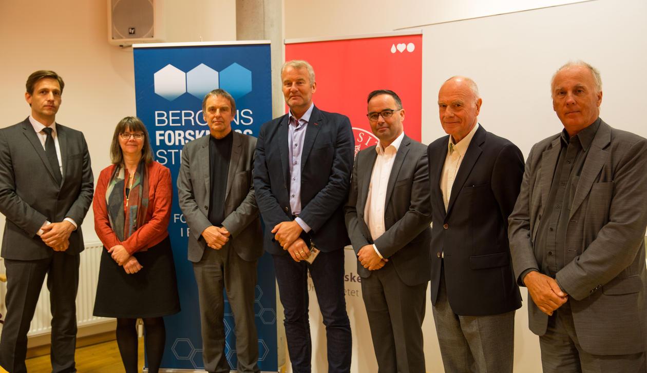 Medlemmene i prosjektgruppen og Scientific Advisory Board