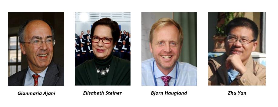 Bilder av personer i advisory board