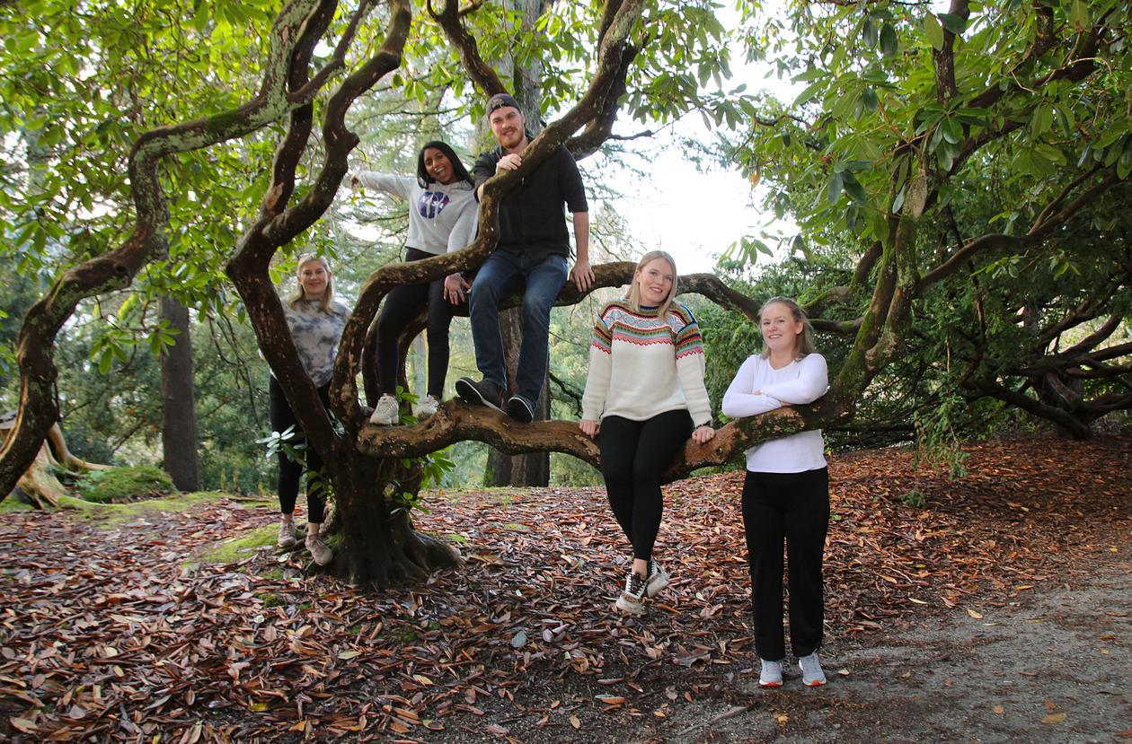 Studenter i Nygårdsparken