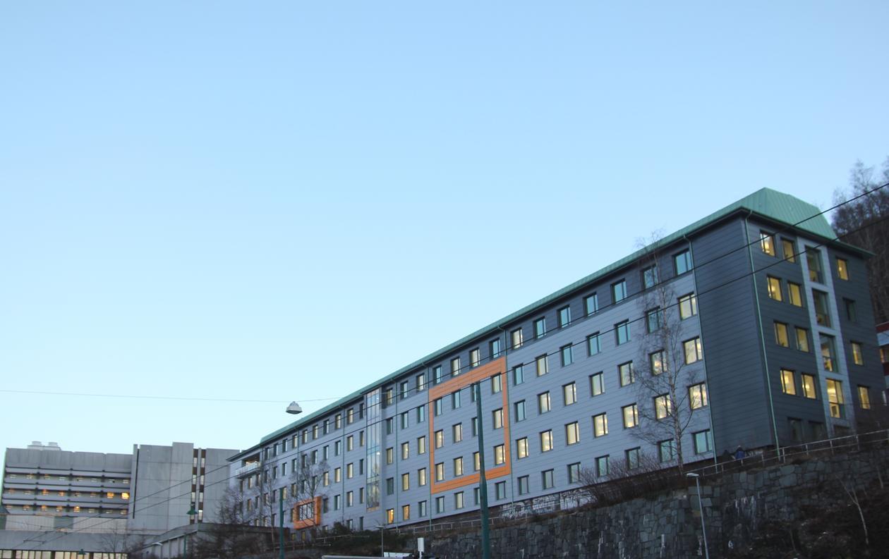 Armauer Hansens hus sett fra Haukelandsveien