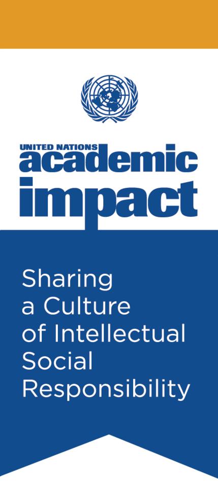 Logo United Nations Academic Impact (UNAI)