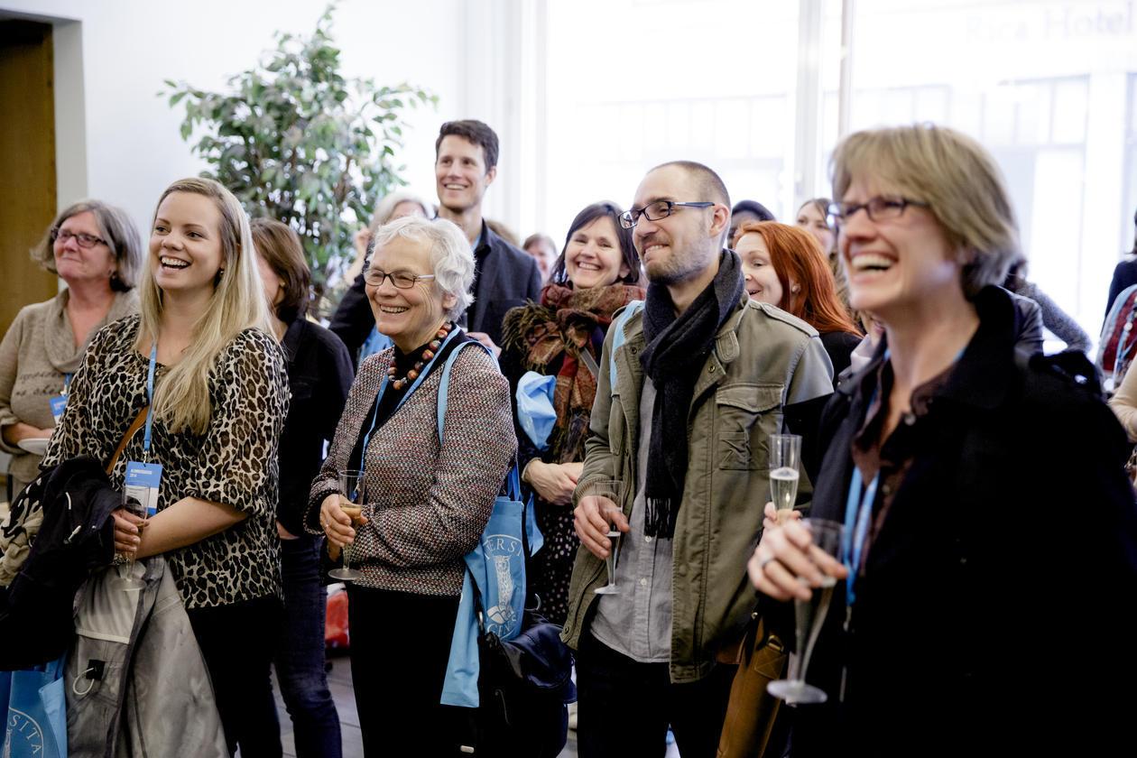 UiB alumni gathered at the 2014 UiB alumni day.
