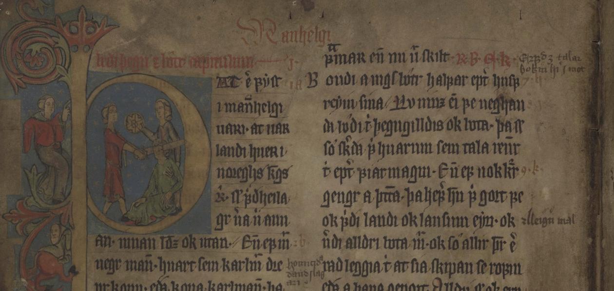 Jónsbók AM 343 fol.