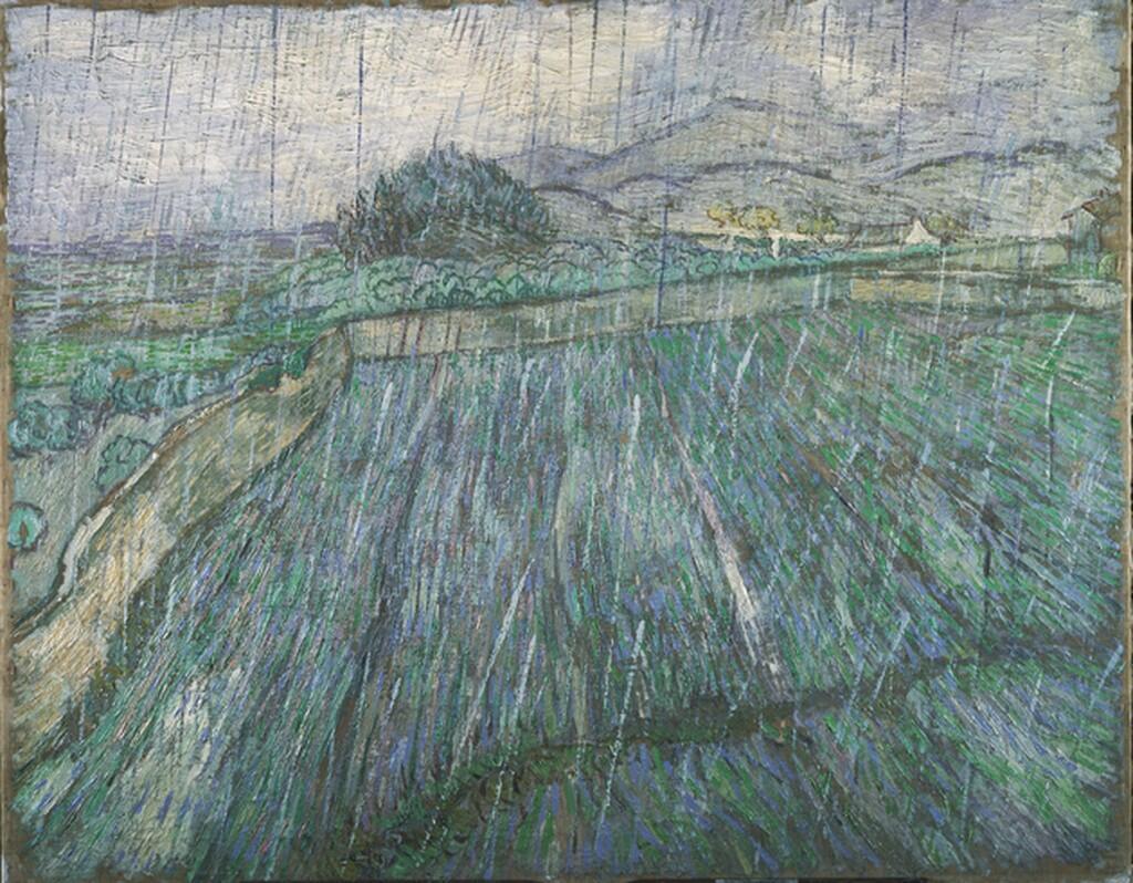 Vincent van Gogh ; Rain