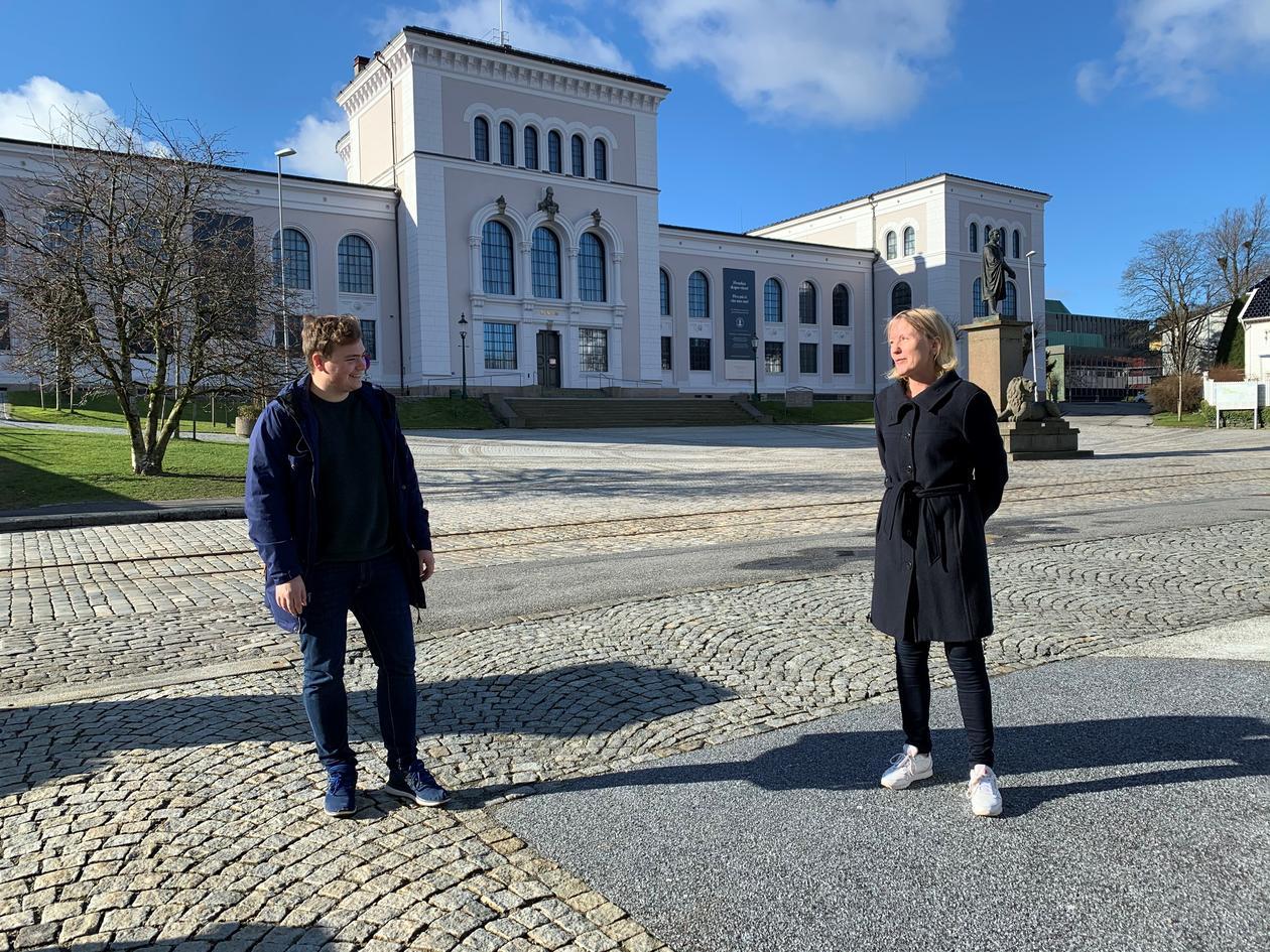 Andras Trohjell og Margareth Hagen