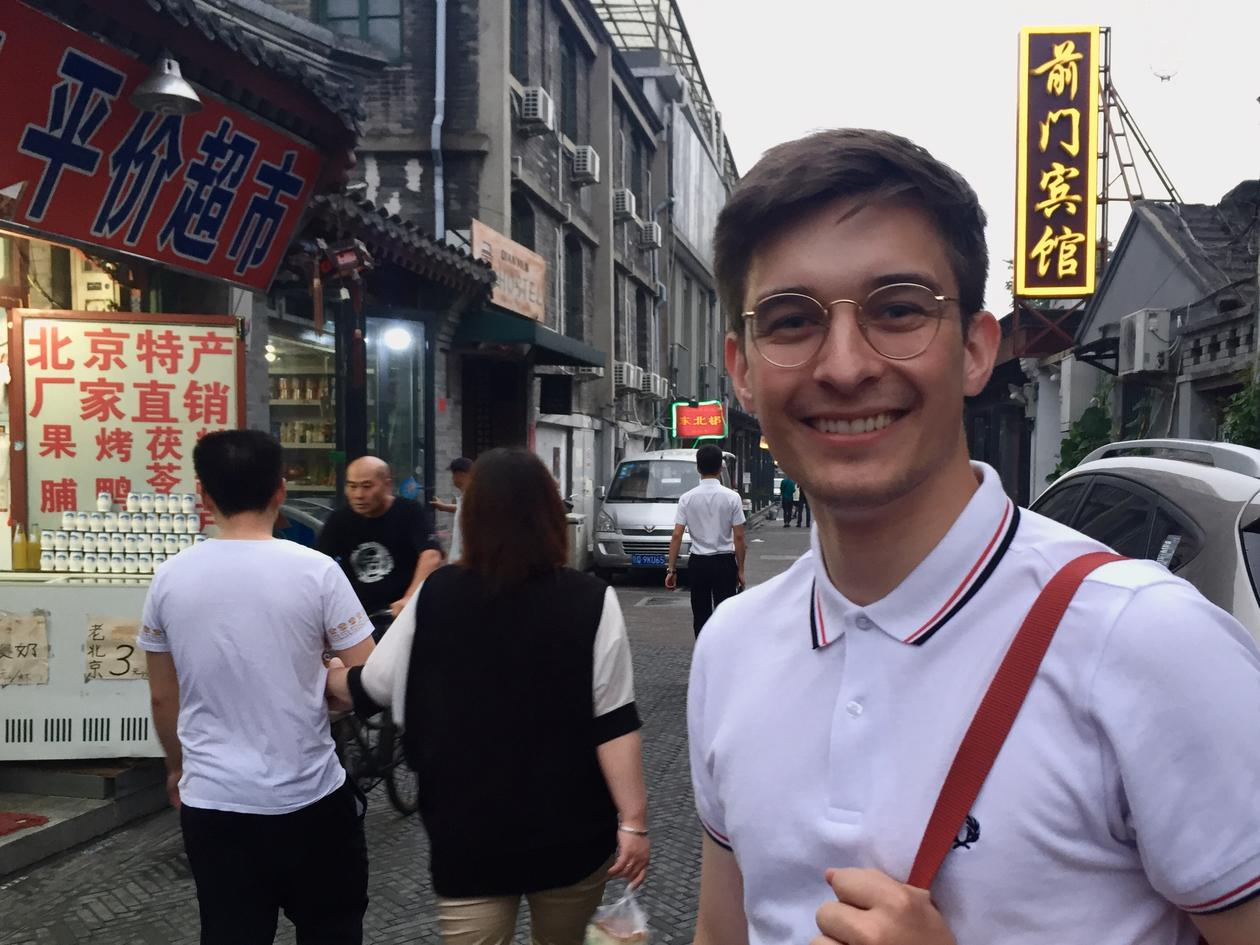 Andreas Slettevold in China