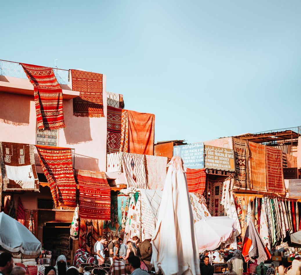 Marked i Marrakesh