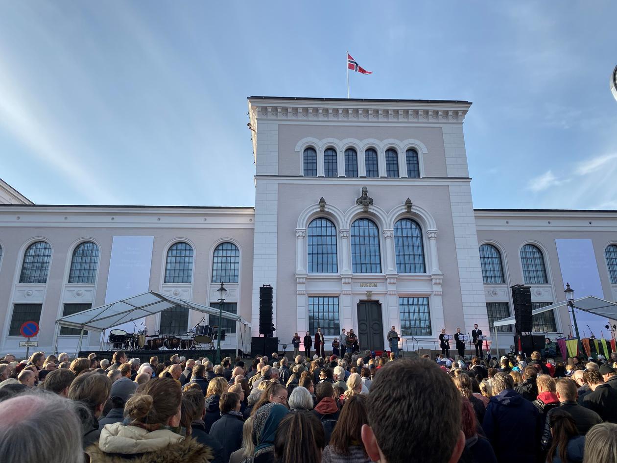 åpning av universitetsmuseet