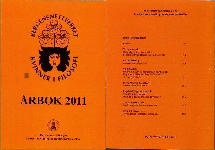 Bilde av omslaget til årboken for 2011