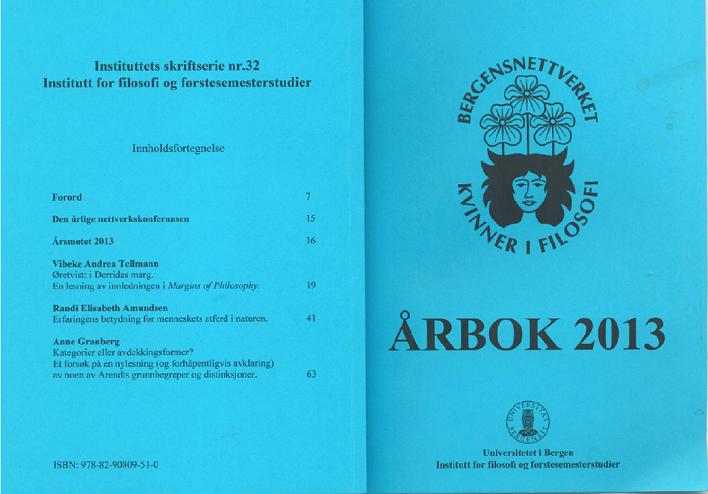 Bilde av omslaget til bnkfs årbok for 2013