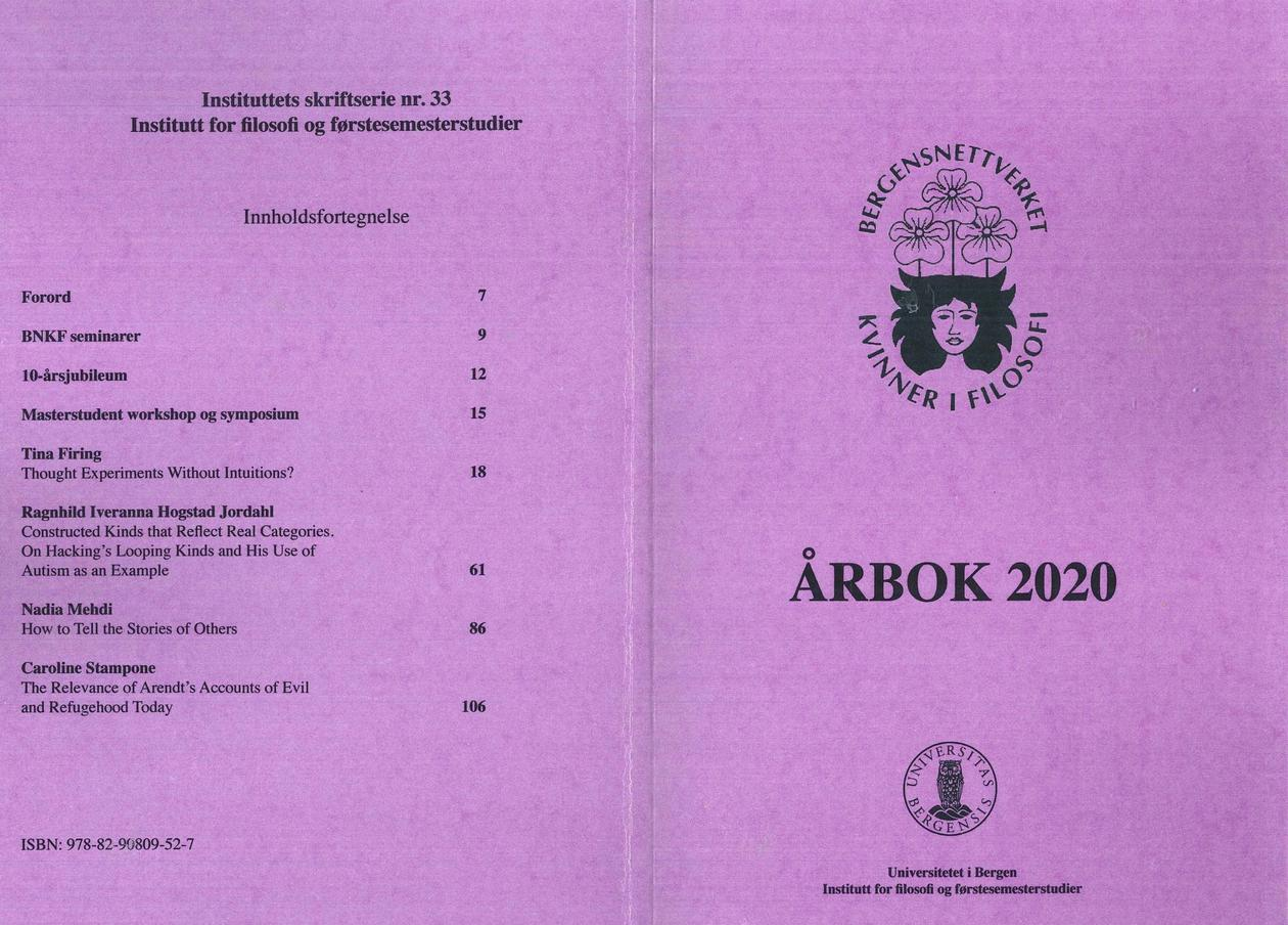 Omslaget på Årbpken 2020 (lys lilla