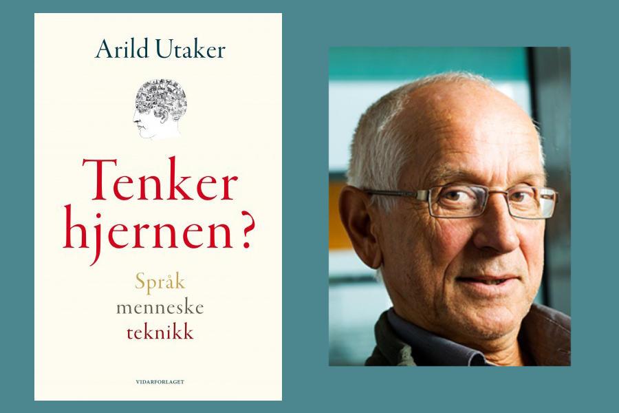 Bilde av bokens omslag og av Arild Utaker