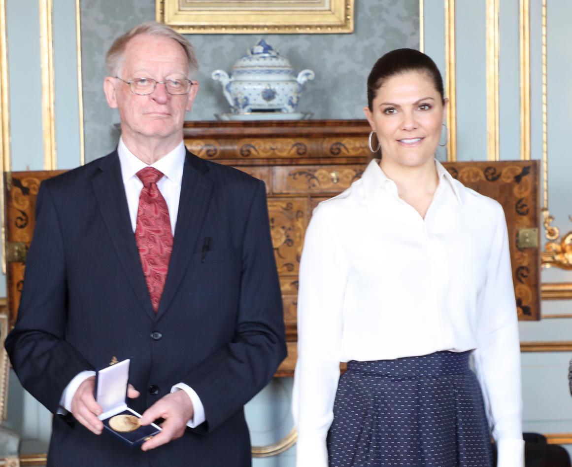 Arild Holt-Jensen og HKH Kronprinsesse Victoria