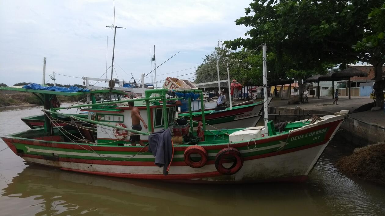 Picture of fishing boats