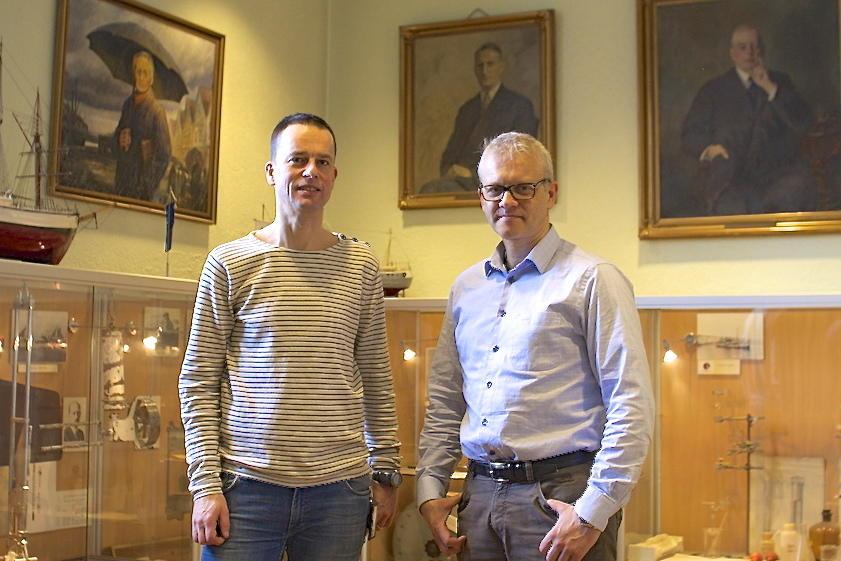 Tor Eldevik og Nils Gunnar Kvamstø