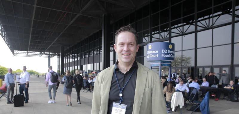 Hans Petter Eikesdal intervjuet på ASCO 2019