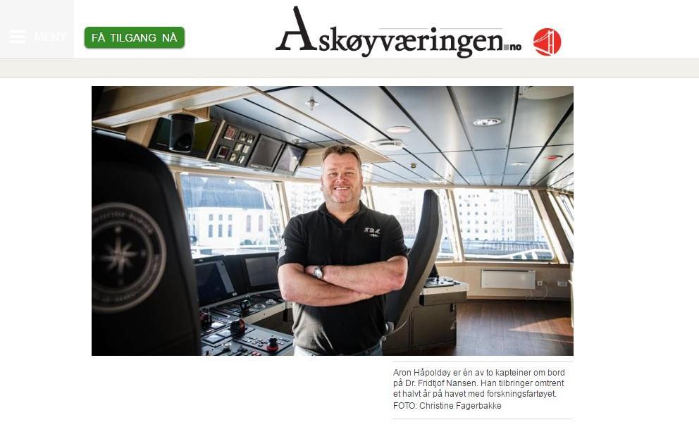 Askøyværingen Dr. Fridtjof Nansen