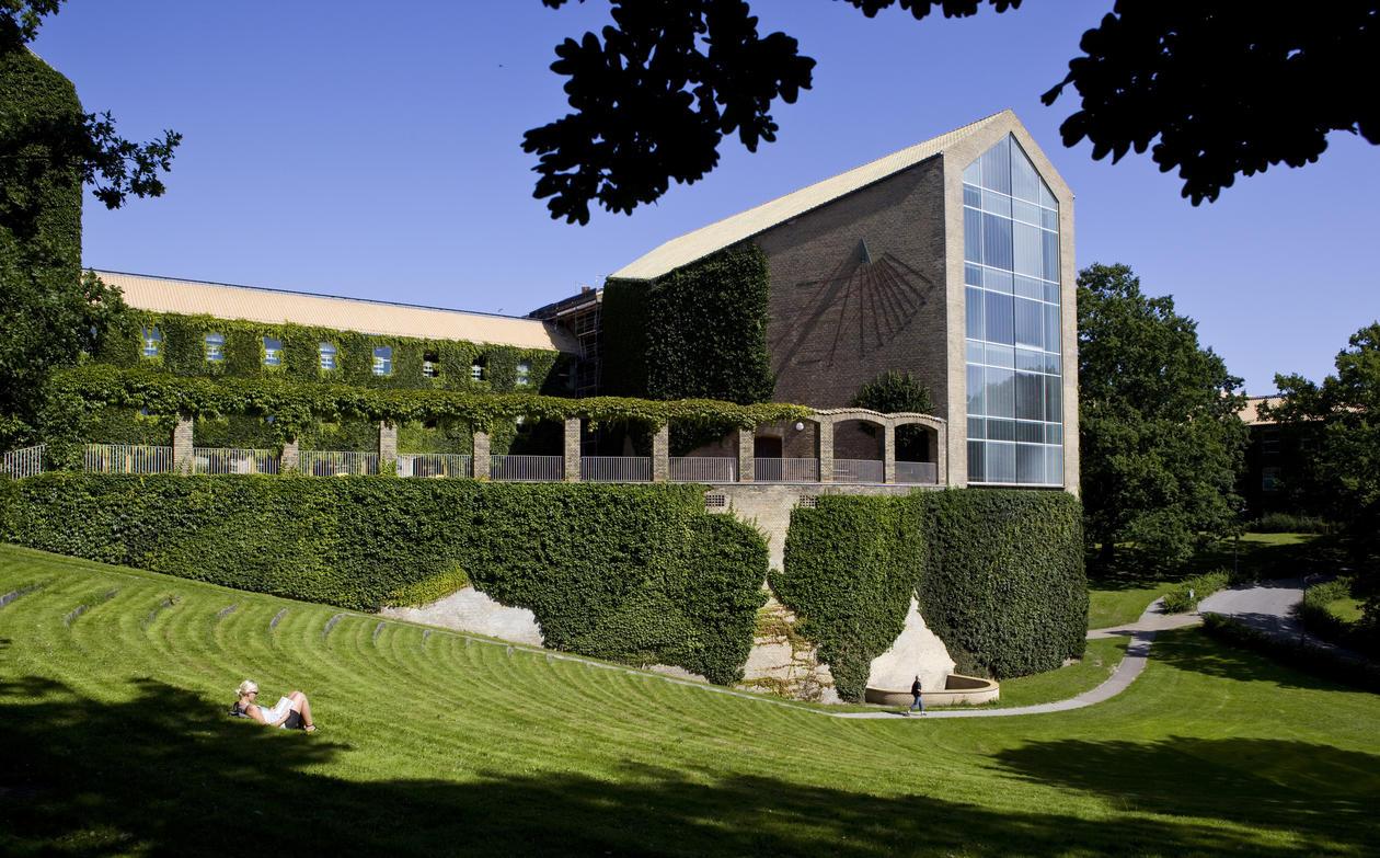 Bygning på campus