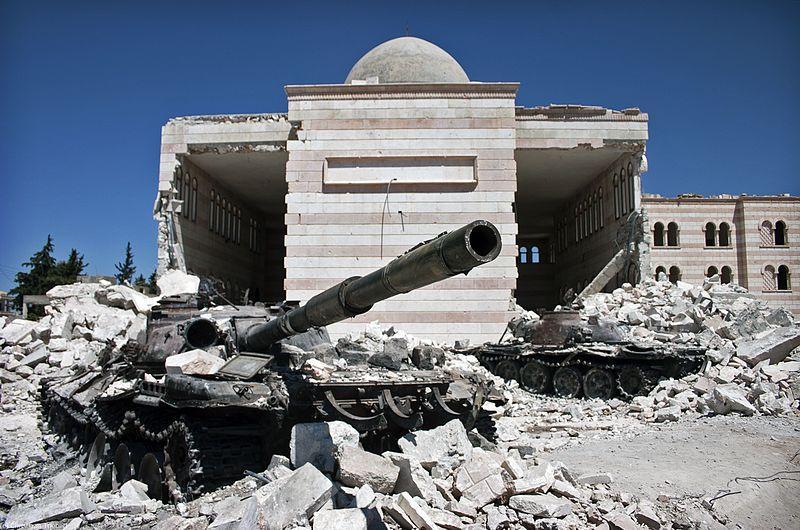 Kjelde: https://commons.wikimedia.org/wiki/File:Azaz,_Syria.jpg