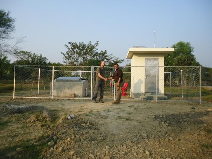 Picture of opening of a seismic station in Bangladesh, 2105