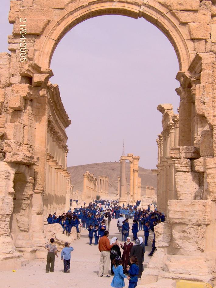 Bilde av barn i Palmyra