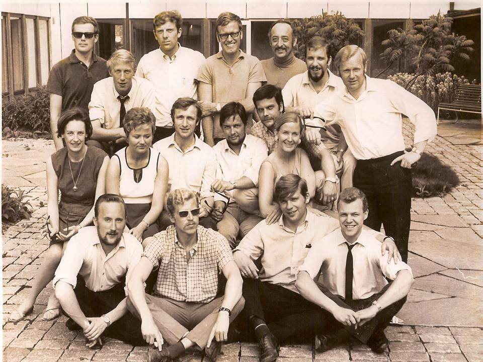 Bilde av det første kullet på profesjonsstudiet i psykologi