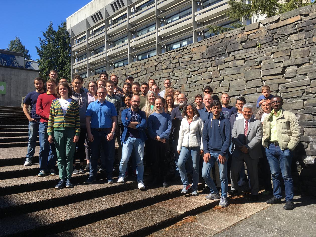 Attendees of Birkeland Centre Research School