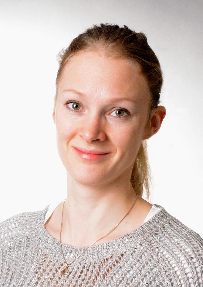 Portrait of Anna Berg.