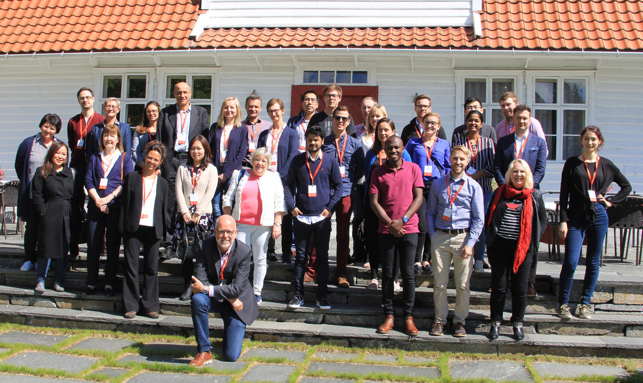 Group photo at the Bergen Fibrosis Conference 2019-2405