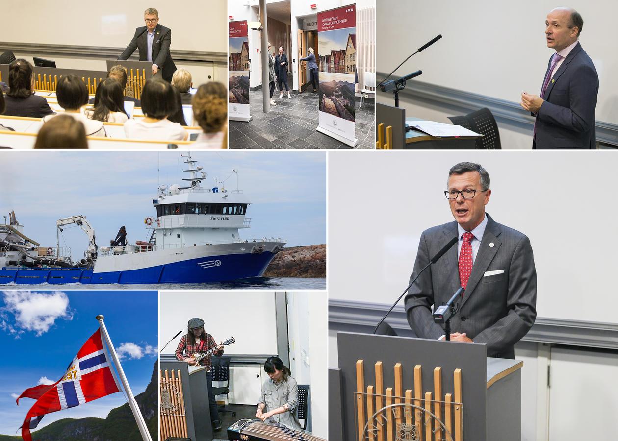 Bilde frå opninga av Maritime Bergen Law Summer Programme