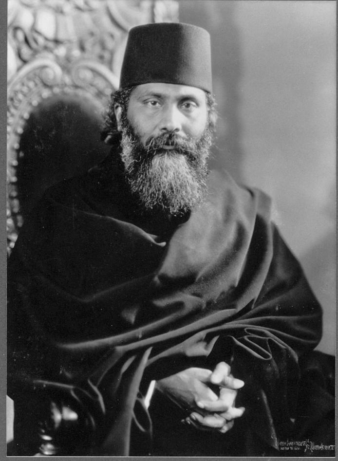Portrett av Inayat Khan, 1920-tallet.
