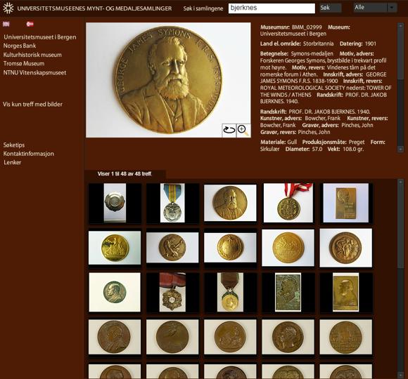Bjerknes medals
