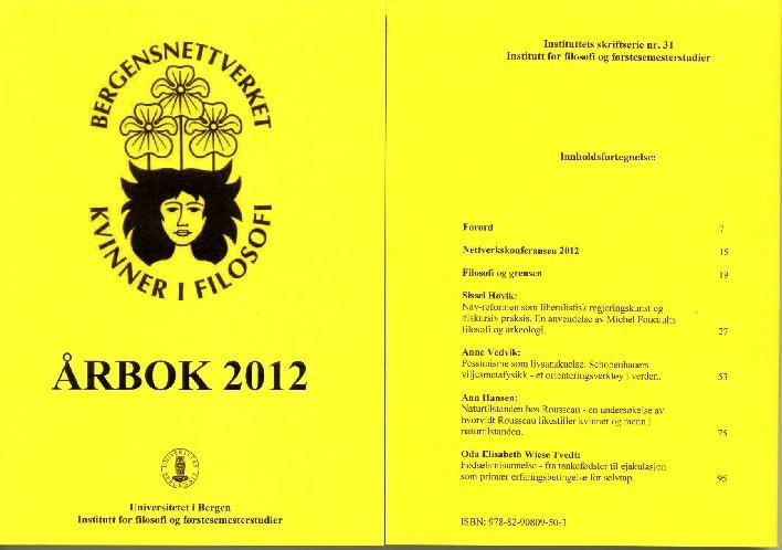 Bilde av omslaget til bnkfs år bok for 2012