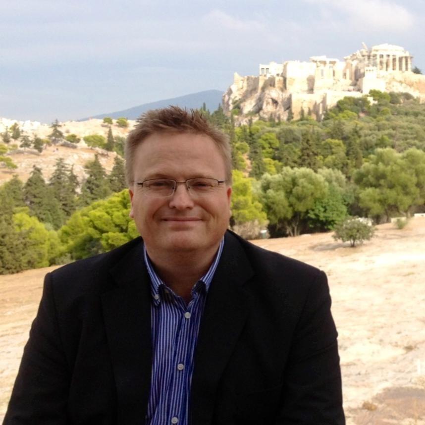Bilde av Ingvar Mæhle i Aten