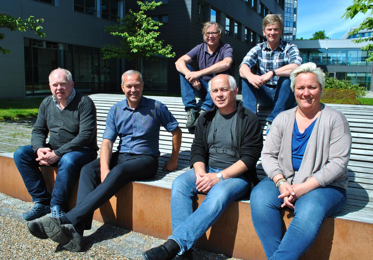 Gruppefoto av Institutt for biologis nye fagruppeledere