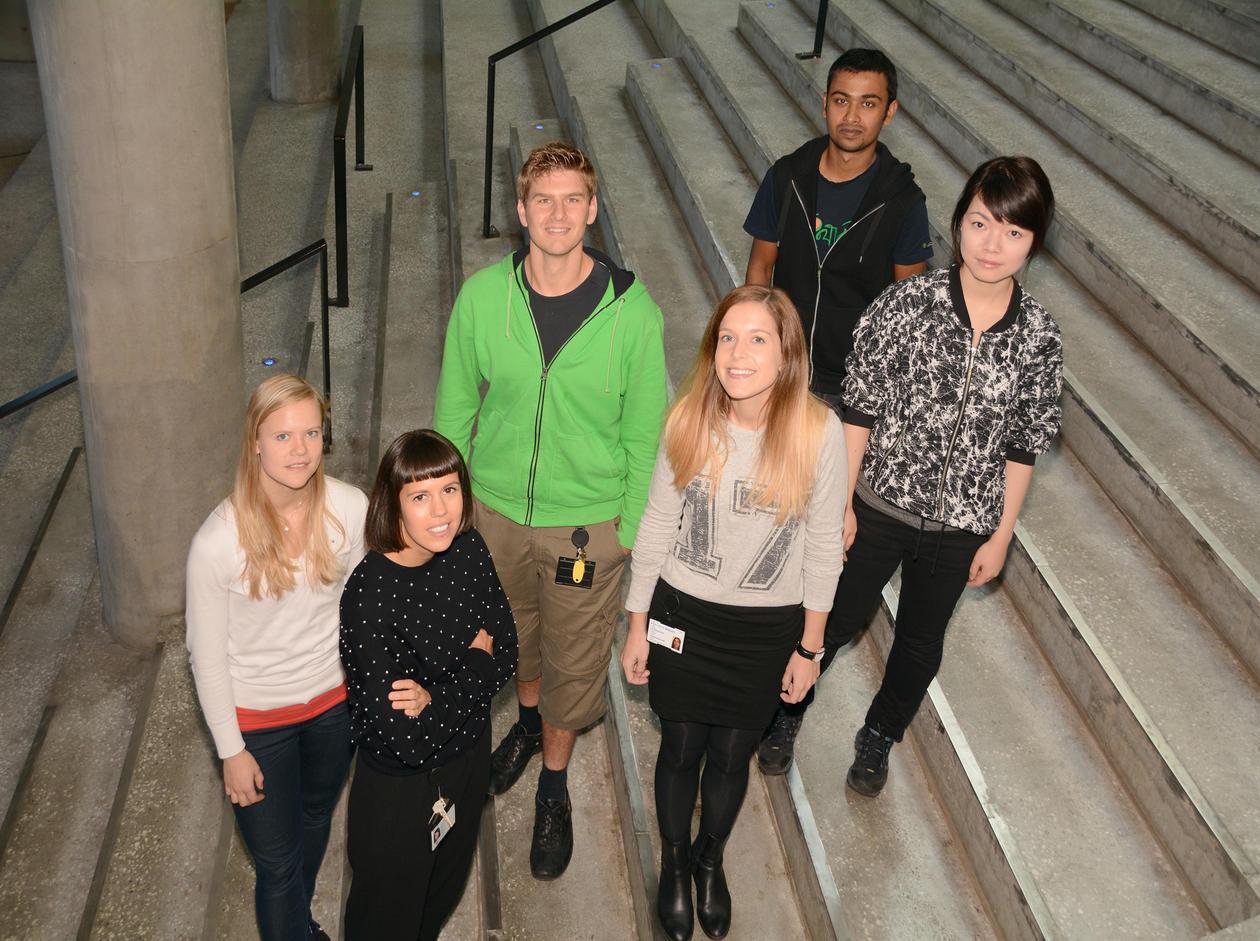 Studenter ved IBM
