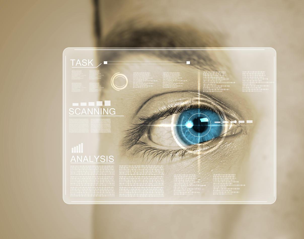 Biometric illustration.