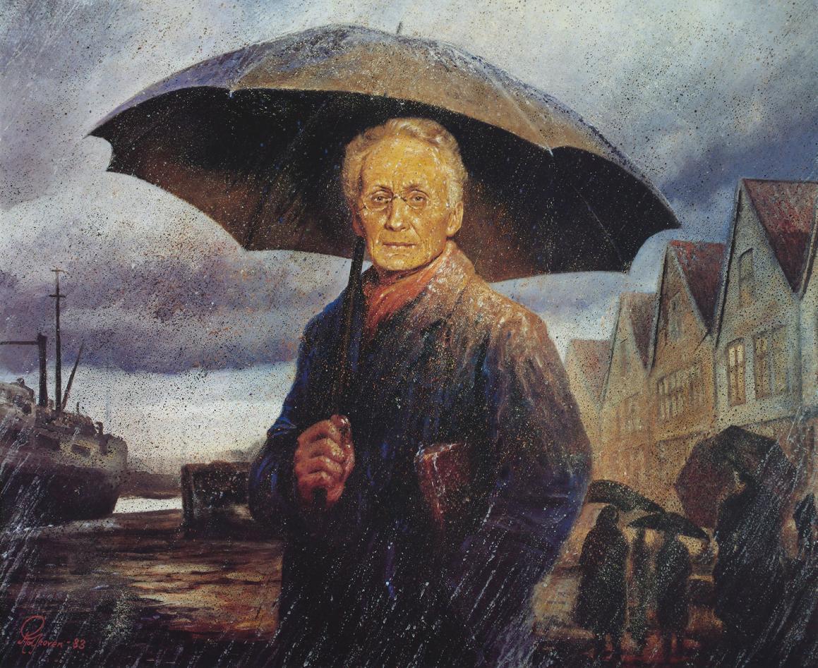 Maleri av Vilhelm Bjerknes