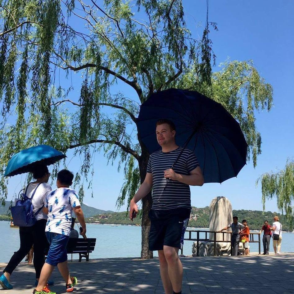 Bjørn-Åge Blix i Kina