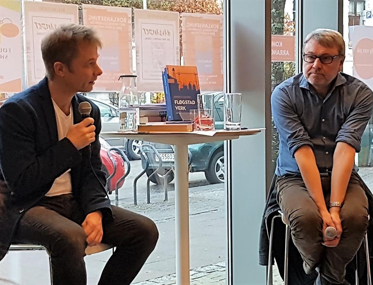Heming Gujord i samtale med Erik Bjerck Hagen