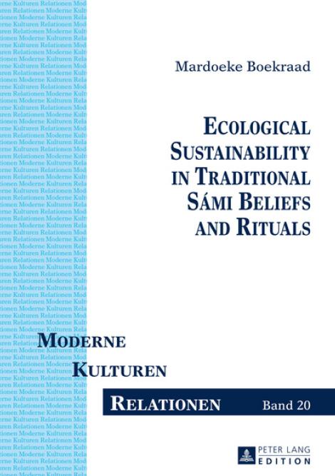 Boken har tittelen «Ecological Sustainability in Traditional Sámi Beliefs and Rituals», og er gitt ut av Peter Lang Publishing Group.
